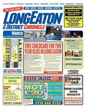March 2014 Long Eaton Chronicle