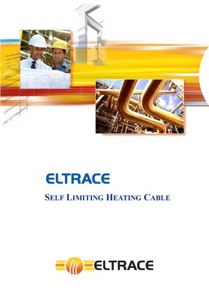 92.Eltrace. Self Regulating Heating Cable Traceco