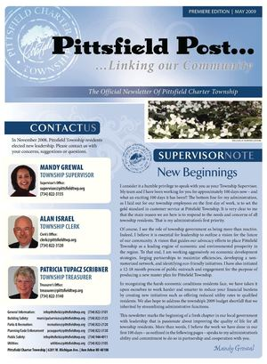 Pittsfield Post Spring 2009