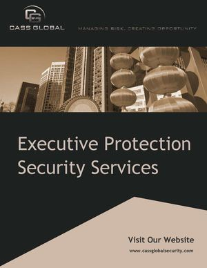 International Executive Protection Services | Protective Security