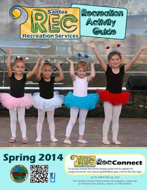 City of Santee Recreation Guide Spring 2014