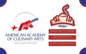 Slide Show: Recipes from the American Academy of Culinary Arts