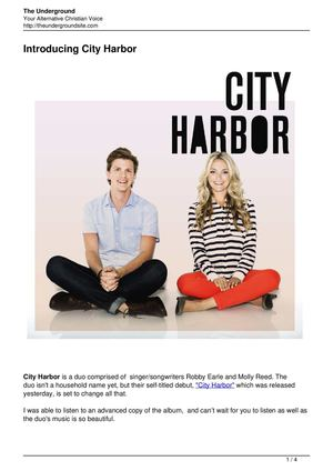 Introducing City Harbor