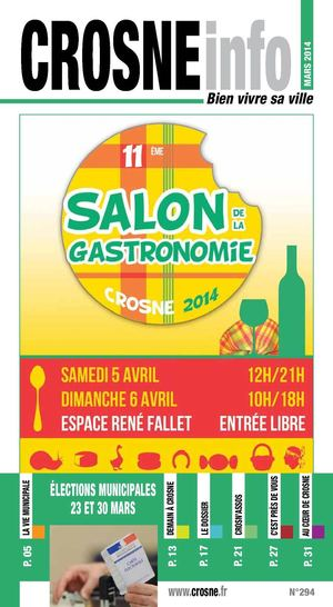 Crosne Info mars avril 2014