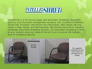 Paper Shredding Services From Intellishred