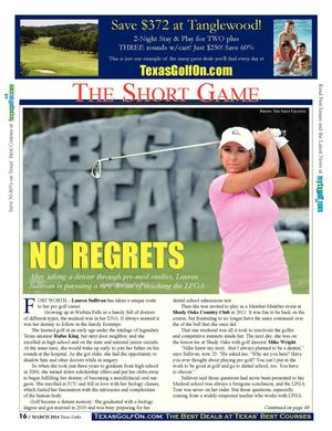 Lauren Sullivan Big Break