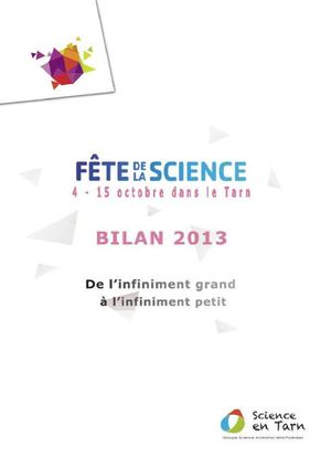 Rapport - Fête de la Science 2013