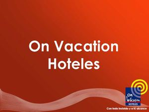 On Vacation Hoteles