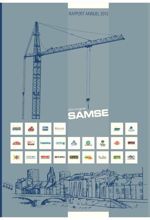 Rapport annuel Groupe SAMSE 2013