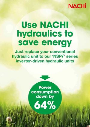 NACHI  'NSPi'  inverter type power unit for machine tools