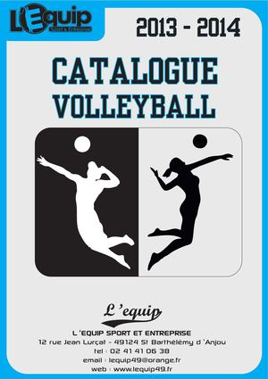 Catalogue Volley 2013