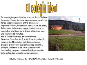 mi colegio ideal