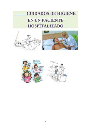 Calameo Cuidados De Higiene En Un Paciente Hospitalizado