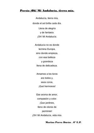 Calaméo - Poesías dedicadas a Andalucía.