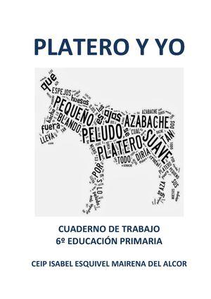 Calaméo - Platero y yo Cuaderno de Trabajo 6º EP