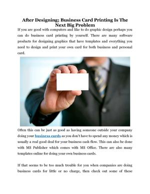 Calamo after designing business card printing is the next big problem after designing business card printing is the next big problem reheart Gallery