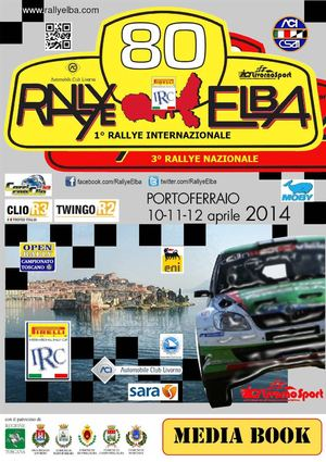 MEDIA BOOK RALLYE ELBA INTERNAZIONALE 2014