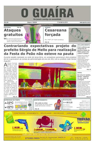 9fd711e96f20d Calaméo - Jornal O Guaíra de 17 de abril de 2014