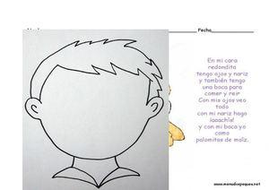 Calaméo El Cuerpo Humano Dibujos Para Colorear Y Actividades Varias