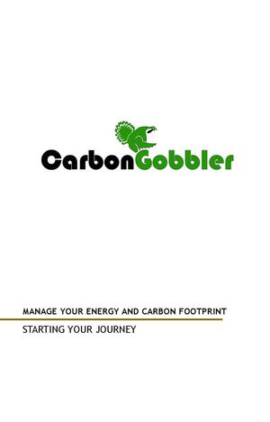 Energy and Carbon Footprint Management - Business And Government Energy Management Portal