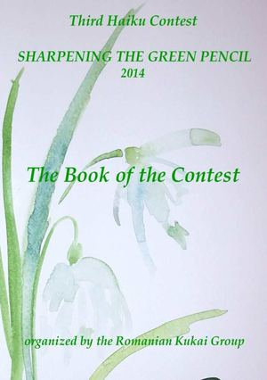 THE BOOK OF THE THIRD HAIKU CONTEST SHARPENING THE GREEN PENCIL 2014
