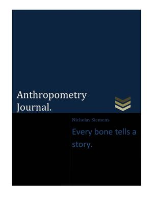Anthropometry Journal
