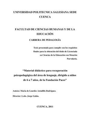 Calaméo - Material didáctico para recuperación psicopedagógica del ...