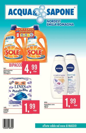 Volantino Acqua E Sapone Emilia 15 31 Mag