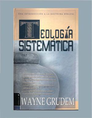 teologia sistematica grudem
