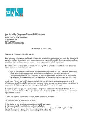 Calaméo   Courrier Carrefour France négociation vendeur EPCS
