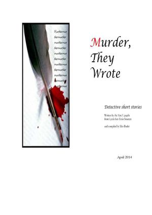 Murder, They Wrote