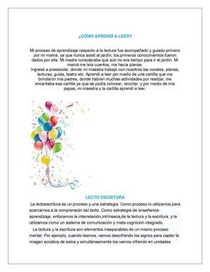 Calaméo Cartilla Literatura Infantil