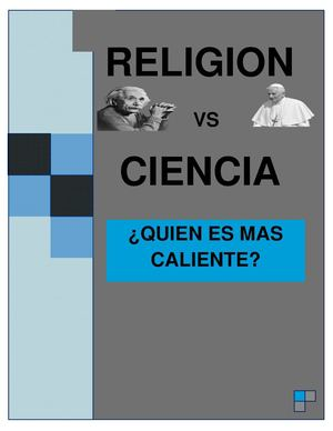 RELIGION VS CIENCIA