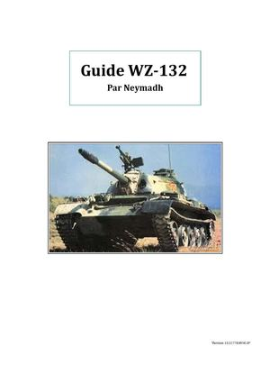 Guide WZ-132_Worlds of Tanks