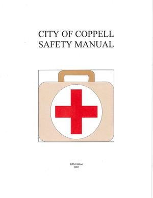 City of Coppell Safety Manual