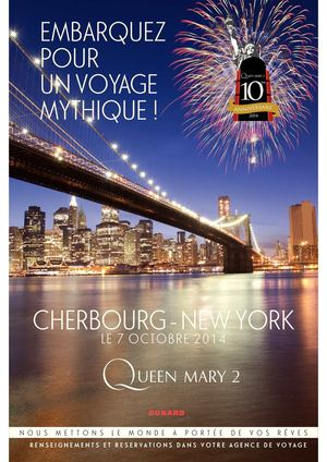 Embarquez sur le Queen Mary 2
