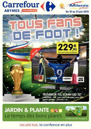 Calaméo Carrefour Milenis Tous Fans De Foot