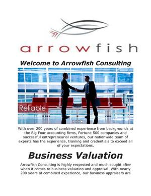 Arrowfish Consulting : Gift And Sstate Valuation
