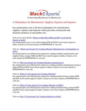 Calaméo - Key mackexperts com being the india's most popular b2b and