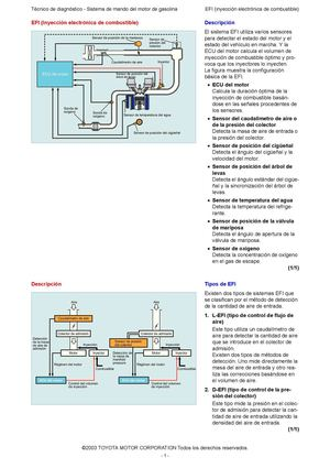6 EFI (INYECCION ELECTRONICA COMBUSTIBLE )