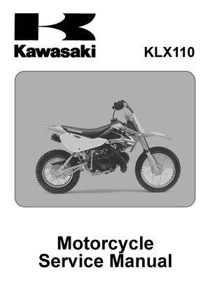 Calaméo - 2002 2009 Kawasaki klx110 Service repair Manual.pdf on