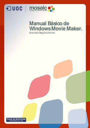 Manual Básico de Windows Movie Maker