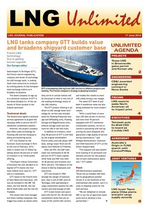 LNG Unlimited - 59 - 17 June 2014