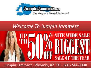 Jumpin Jammerz : Adult Footed Pajama
