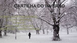 CARTILHA DO INVERNO