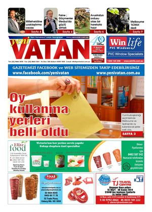Yeni Vatan Turkish Newspaper Issue No: 1754