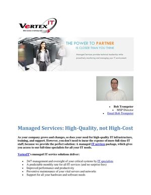 Vertex IT Solutions Leadership