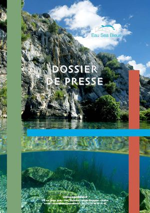 Dossier de presse Eau Sea Bleue version 2010