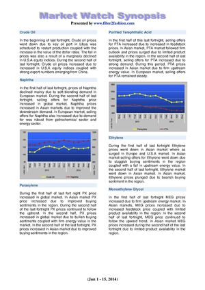 Textile Market Watch Synopsis June 17_2014.