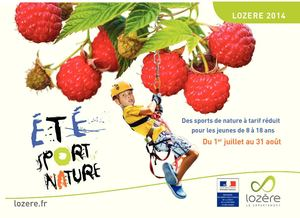 Brochure Eté Sport Nature 2014